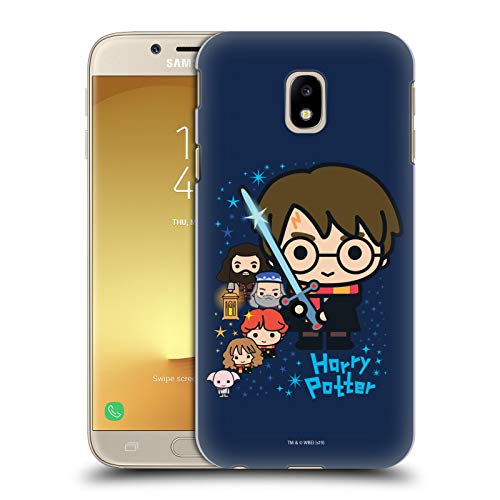 Head Case Designs Ufficiale Harry Potter Personaggi Deathly Hallows I Cover Dura per Parte Posteriore Compatibile con Samsung Galaxy J3 (2017)