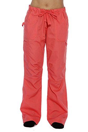 24000PCOR-M Just Love Women's Utility Scrub Pants / Scrubs, Coral Utility, Medium