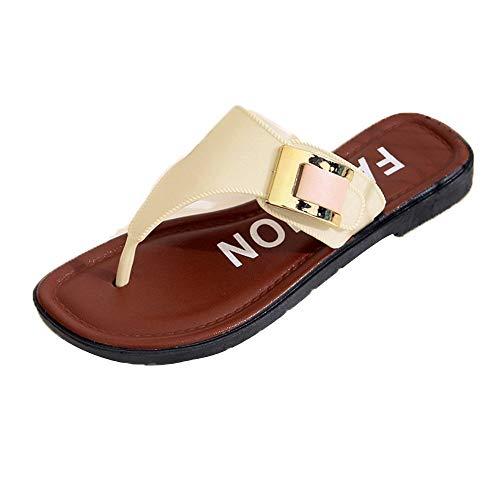 DreamedU Zapatillas De Playa Sobre Zapatos Planos Use Elegantes Comodos Suave 200929