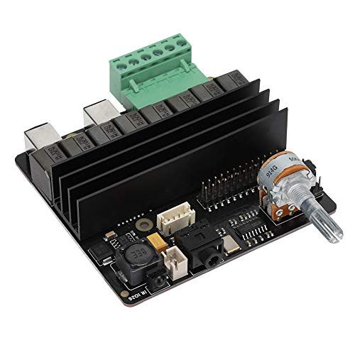 Durable Audio Board, Resolution Up To 24Bit DAC Audio Card, Stable for Raspberry Pi 4 Model B/3B+/3B PC