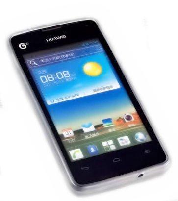 Silikon TPU Handy Case - Cover in Foggy kompatibel mit Huawei Ascend Y300 – Hülle Schale