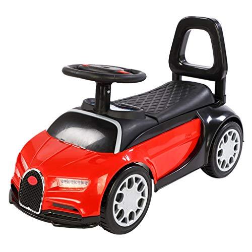 Voiture pour Enfants Yo Car Twist 2-3 Ans Baby Slide Balance Balance Yo Car Kids Slide Walker FANJIANI (Couleur : Rouge, Taille : A)