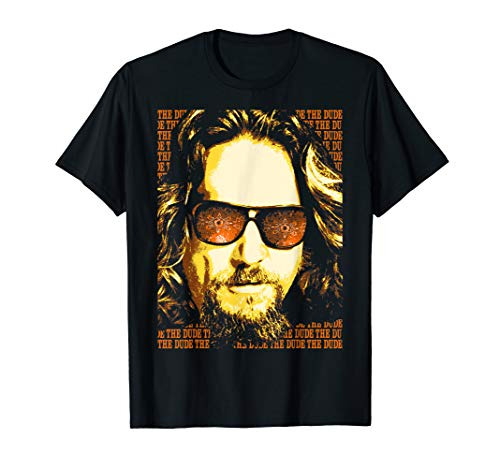 The Big Lebowski Head Shot The Dude Work Stack Poster T-Shirt