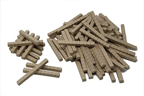WISSNER aktiv lernen - 100 Dienes Zehnerstäbe - RE-Wood