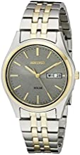 Seiko Men's SNE042 Stainless Steel Solar Watch