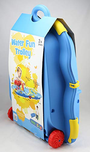 Ideal Starplast Wasserbahn Trolley Wasser Bahn Spiel Wasserstraße Outdoor Spielzeug