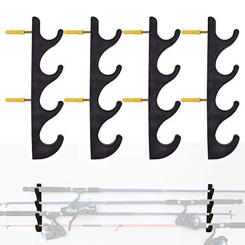 Top 10 Best Hooks for Hanging Fishing Rods Comparison