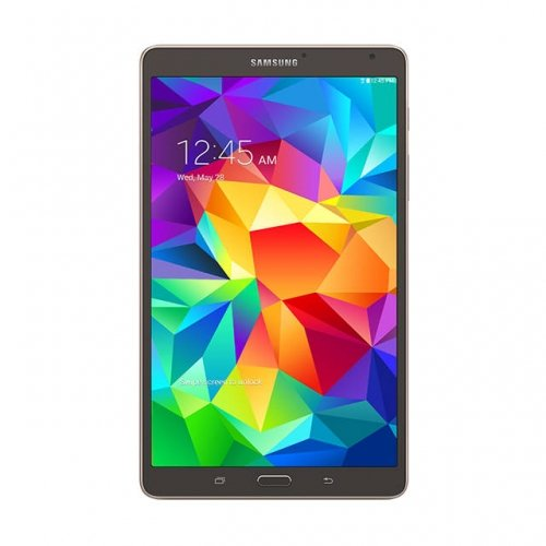 SAMSUNG Samsung Galaxy Tab S SM-T700NTSAXAR 8.4 inch Exynos 5 Octa 1.9GHz 16GB Android 4.4 KitKat Tablet (Bronze) / SM-T