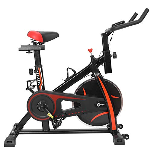 KLDJHNS Cardio Machine, Exercise Bike for Home,Sunny Health and Fitness Indoor Cycling Bike,Ultra-Quiet Exercise Bike Home Bicycle Fitness Equipment, Burn Fat and Calories