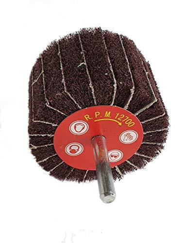 Vliesschleifer Schleifmop Schleifstift Vliesmop in verschiedenen Größen und Körnungen (50x30x6 K120)