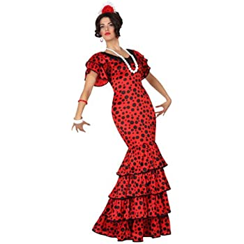 Atosa-15587 Disfraz Flamenca, color rojo, XS-S (15587): Amazon.es ...