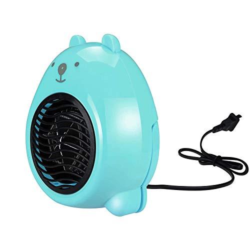 Ventilador eléctrico para calefacción doméstica, portátil, pequeño radiador de cerámica de escritorio interior, para el calentador de interior