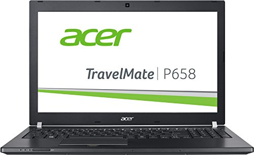 Acer TravelMate P658-M-547D 39,6 cm (15,6 Zoll Full-HD IPS matt) Laptop (Intel Core i5-6200U, 8GB RAM, 256GB SSD, Intel HD, Win 10 Pro) schwarz