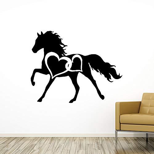 JXLLCD Singapore paard muurschildering verwijderbaar, vinyl, muurschildering, muurschildering, muurschildering