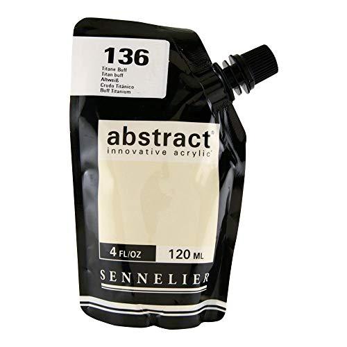 Abstract Acrylic 120ml Titanium Buff