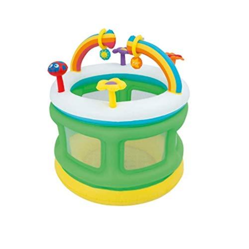 AJH Kids Clown Türsteher Hüpfburg Aufblasbares Spielhaus Hüpfburg Baby Pool Zelt Kunststoff Sonnenschirm Spielhaus Tragbares aufblasbares Kinderschloss Spielzeughaus