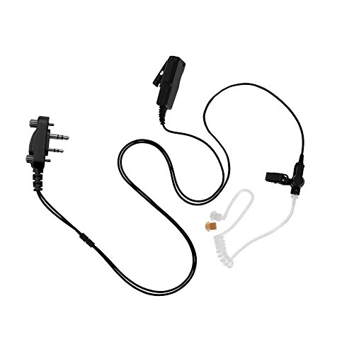 Maxtop ASK4032-I2 2-Wire Acoustic Ear Tube Surveillance Kit for ICOM IC-F11 F21 IC-F3000 F4000