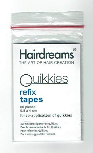 60 Hairdreams Quikkies refix tapes