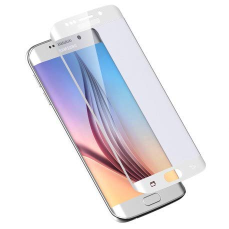 DrPhone Cristal auténtico para Samsung Galaxy S6 Edge Plus, cobertura completa, cristal templado 3D, diseño completo de borrego (OOK