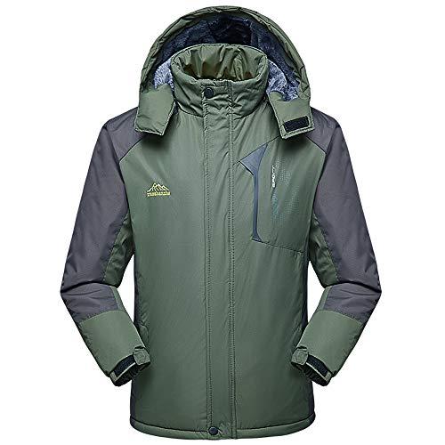 Hotopick Langer Mantel Und Samtjacke FüR Herren Wasser Outdoor Jacke