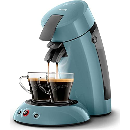 Senseo Original HD6553/21 Kaffeemaschine (Stand-alone, Pad-Kaffeemaschine, 0,7 l, Kaffeepad, 1450 W, Blau)