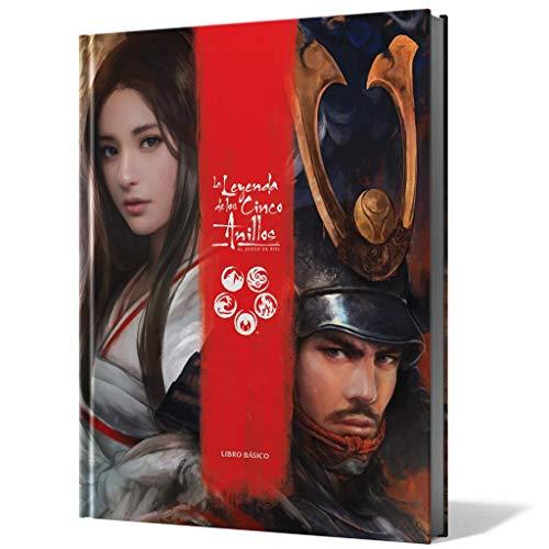 Fantasy Flight Games-La Leyenda de los Cinco Anillos El Juego de rol (Asmodee L5R02ES)