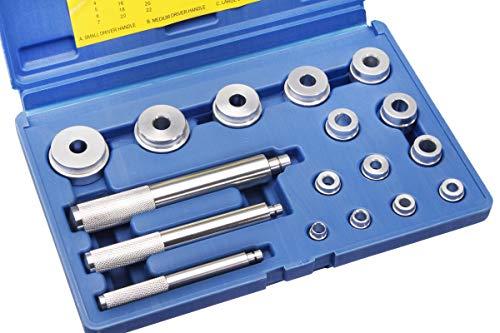 Simmerring-/Buchsen-Austreibersatz 17-tlg. - Montage für Radialwellendichtringe