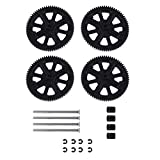 Keenso Drone Motor Gear Set, RC Spare Parts Set Shaft Gear Set for Parrot AR Drone 1.0 & 2.0 Quadcopter Gear Shaft Accessory Set