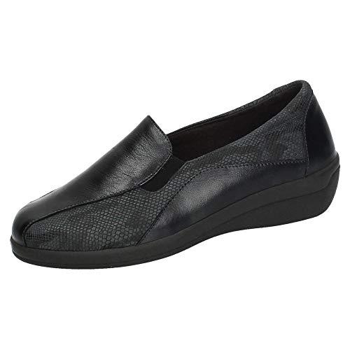 DOCTOR CUTILLAS 43404 DOCTOR CUTILLAS Piel Mujer Zapatos MOCASÍN Negro 37