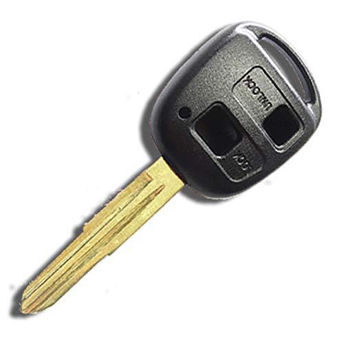 ムーヴ カスタム L150S 対応 ブランクキー 2ボタンタイプ 純正キー 互換品 トヨタ/ダイハツ車対応 キーレス/合鍵/鍵/カギ/スペアキー/キー