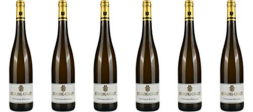 Weingut Kühling-Gillot Oppenheim Riesling trocken DE-ÖKO-039* Rheinhessen 2018 Wein (6 x 0.75 l)