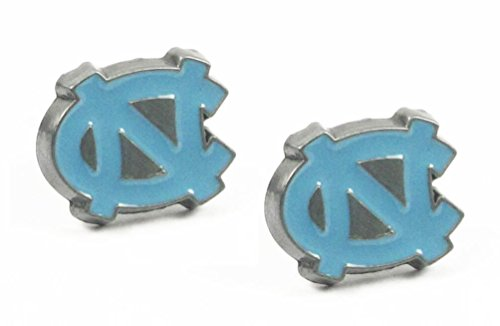 North Carolina Tar Heels - UNC Studded Earrings - NCAA College Athletics Fan Shop Sports Team Merchandise