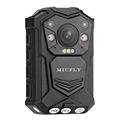 As the ultimate security gadget, this Full-HD body worn camera offers great security throughout your upcoming shifts as a security guard, police officer, or bouncer. Support connect external auxiliary camera lens (Not included, need purchase separate...