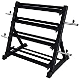 Balelinko 4 Tier Weight Rack for Home Gym, Weight Rack for Dumbbells...