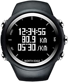 Morden  Men's Fashion Professional Outdoor Sports Watch, Waterproof Running Mountaineering Smart Digital Watch, Support GPS and Calorie Consumption