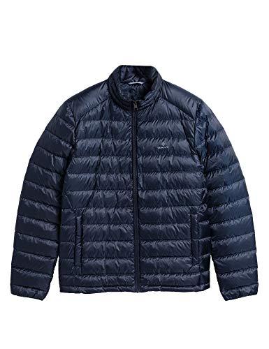 GANT Herren D1. The Light DOWN Jacket Jacke, Blau (Marine 410), X-Large (Herstellergröße: XL)