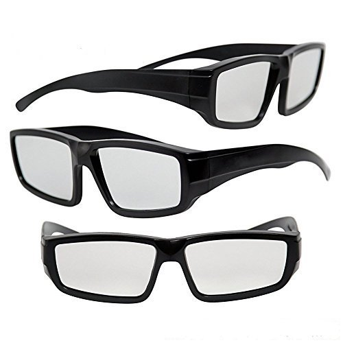 Solar Eclipse Glasses ISO Certified - NASA and CE Approved Adult Size (3 Pack)