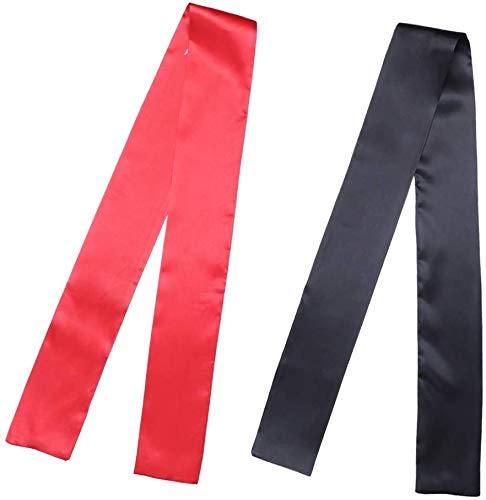 2 Stuks Dames Satijnen Rand Sjaals voor Haar Lagen Pruik Grip Band Brief Sjaal voor Lace Front Pruik Antislip Haaromslag voor Yoga, Make-up, Sport (met 1PCS pruintape en 1PCS haarrandcontroleborstel)