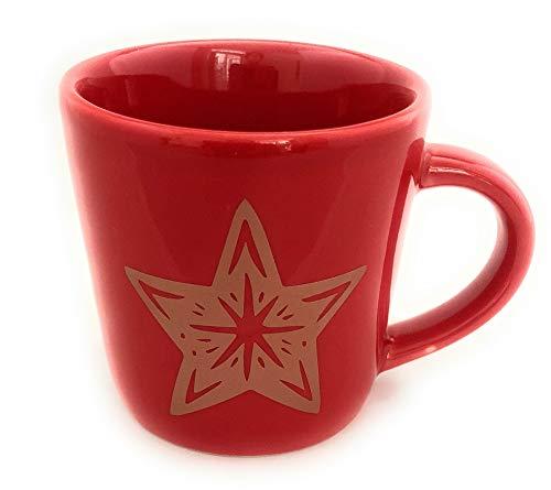 Starbucks 2018 Red Star Espresso Holiday Mug - 3 Ounce Size