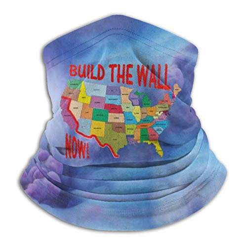 LKQTH Build The Wall Now Cache-cou pour homme et femme