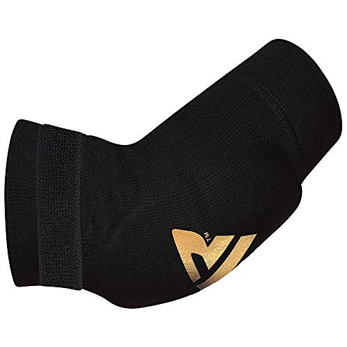 RDX Boxeo MMA Codera Baloncesto Soporte Vendaje Codo Protectors Venda