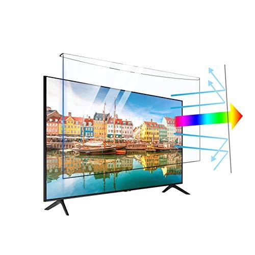 32-65インチの取り外し可能なテレビスクリーンプロテクターがぶら下がっている、アクリルアンチブルーライトフィルター、18サイズ ASPZQ (Color : Anti-blue light, Size : 40 inch 896*538mm)