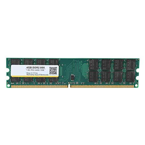 VBESTLIFE 4 GB DDR2 800 MHz Speicher RAM Große Kapazität Hohe Speichergeschwindigkeit 240Pin PC2-6400 Spezielle Speicherbank, tragbares Korrosionsschutzmittel, für Desktop-Computer-Motherboard