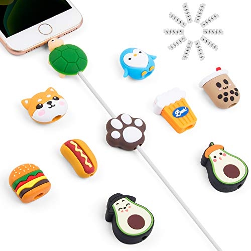 SUNGUY Animal Charging Cable Buddies for iPhone iPad Charger