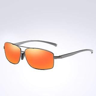 WEIJIANGBEI النظارات الشمسية المستقطبة للرجال المرأة ساحة المعادن القيادة الأشعة فوق البنفسجية نظارات شمسية واقية من الشمس