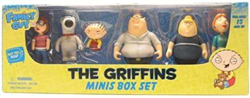 Family Guy - The Griffins Minis Box Set (6 Fig.)