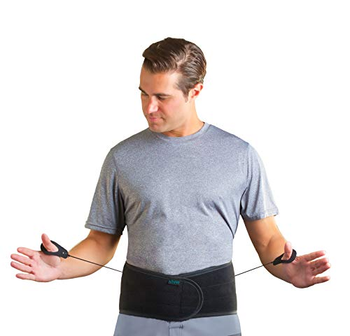 Aspen Lumbar Support Back Brace, Patented Pulley System for Targeted Compression, Back Braces for Lower Back Pain Relief for Herniated Disc, Sciatica, Scoliosis for Men & Women, Large