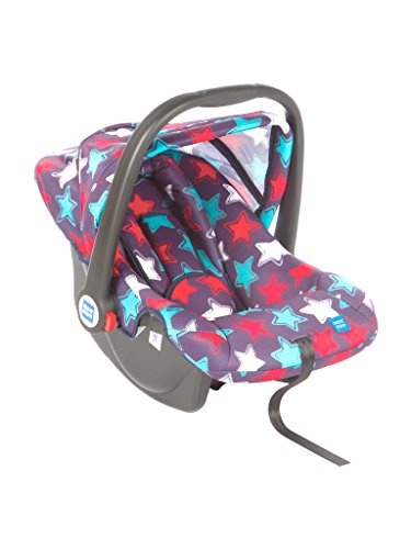 Mee Mee Baby Car Seat Cum Carry Cot with Thick Cushioned Seat (Navy Blue)
