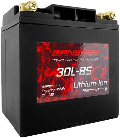 Banshee YTX30L-BS Battery LifePO4 YIX30L specialty shop Harley Polaris Davidson SEAL limited product