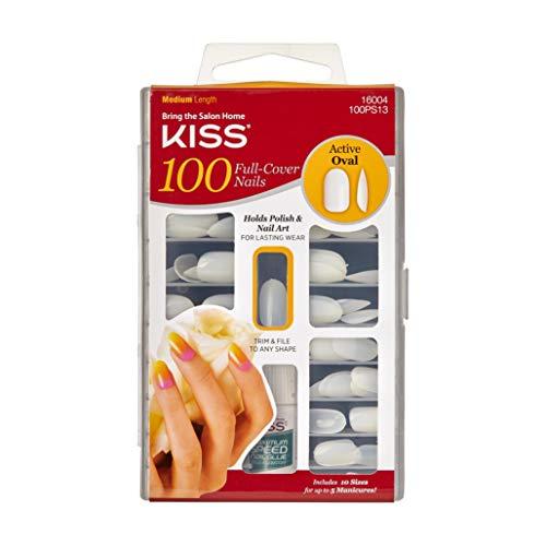 Kiss Active Oval Nägel–100Stück